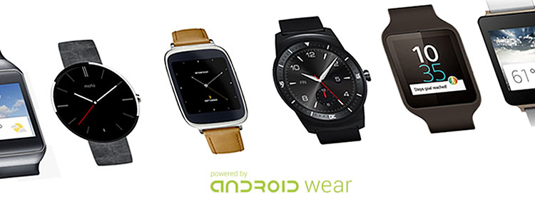 smartwatches con android wear