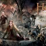 Póster panorámico gigante de El Hobbit: La Batalla de los Cinco Ejércitos