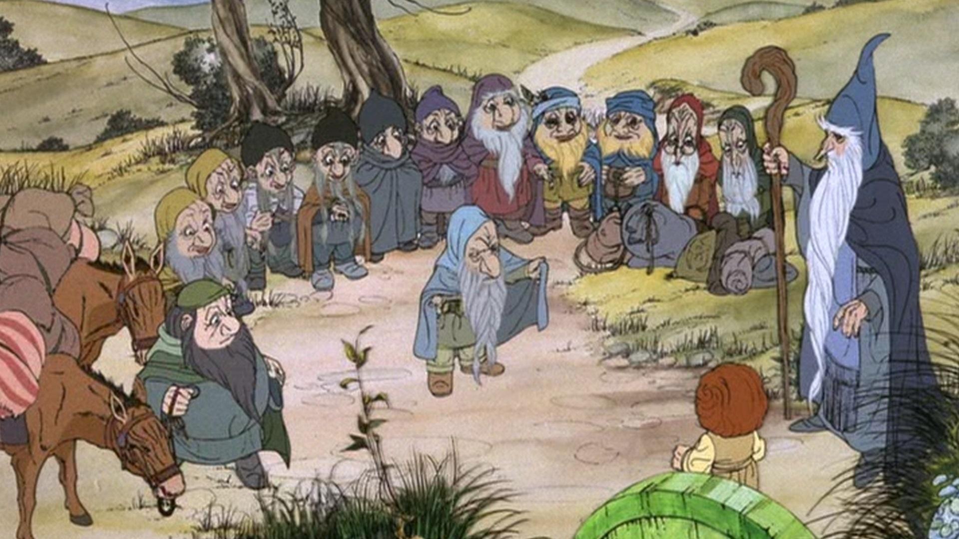 el hobbit 1977