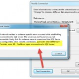 SQL Server: Error al conectar con la BBDD [SOLUCIÓN] error: 40 – Could not open a connection to SQL Server
