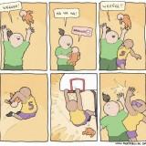 Cómo jugar con el bebé (humor)