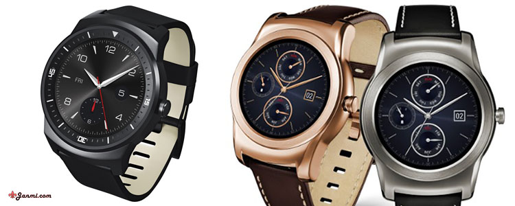LG G Watch R VS LG G Watch Urbane