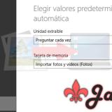 Cómo importar fotos de forma automática en Windows 8