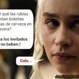 Lo que Daenerys guarda en la nevera…