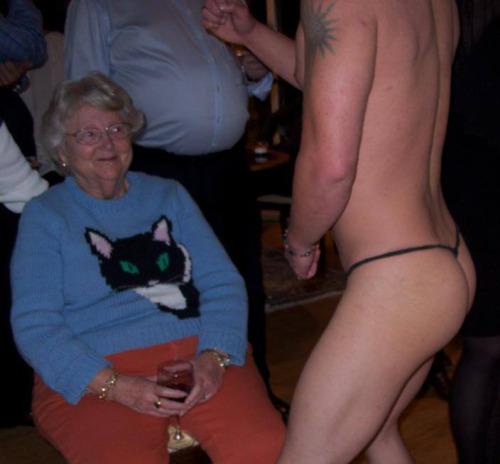 Abuela feliz