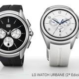 Comparativa entre LG Watch Urbane y LG Watch Urbane 2