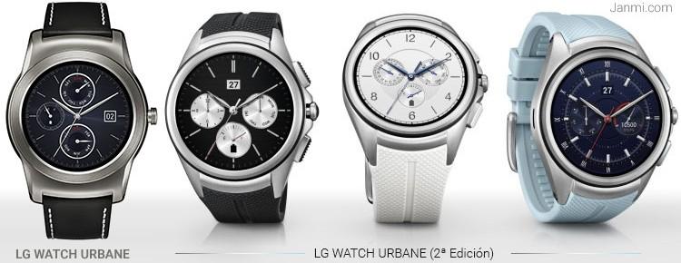 LG Watch Urbane vs LG Watch Urbane 2
