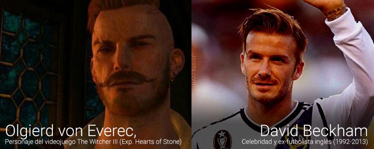 Olgierd von Everec y David Beckham