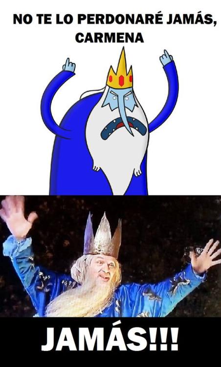 rey hielo es melchor de madrid