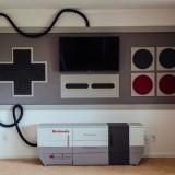 Comedor tematizado con Nintendo NES