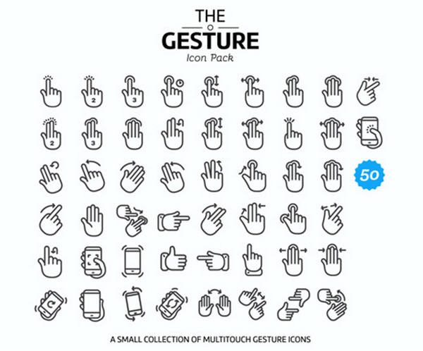 multitouch-gesture-iconsby-2Bundles
