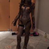 Cosplay de Predator femenina
