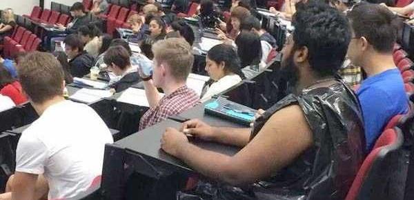 cuando no tienes que ponerte para ir a clase