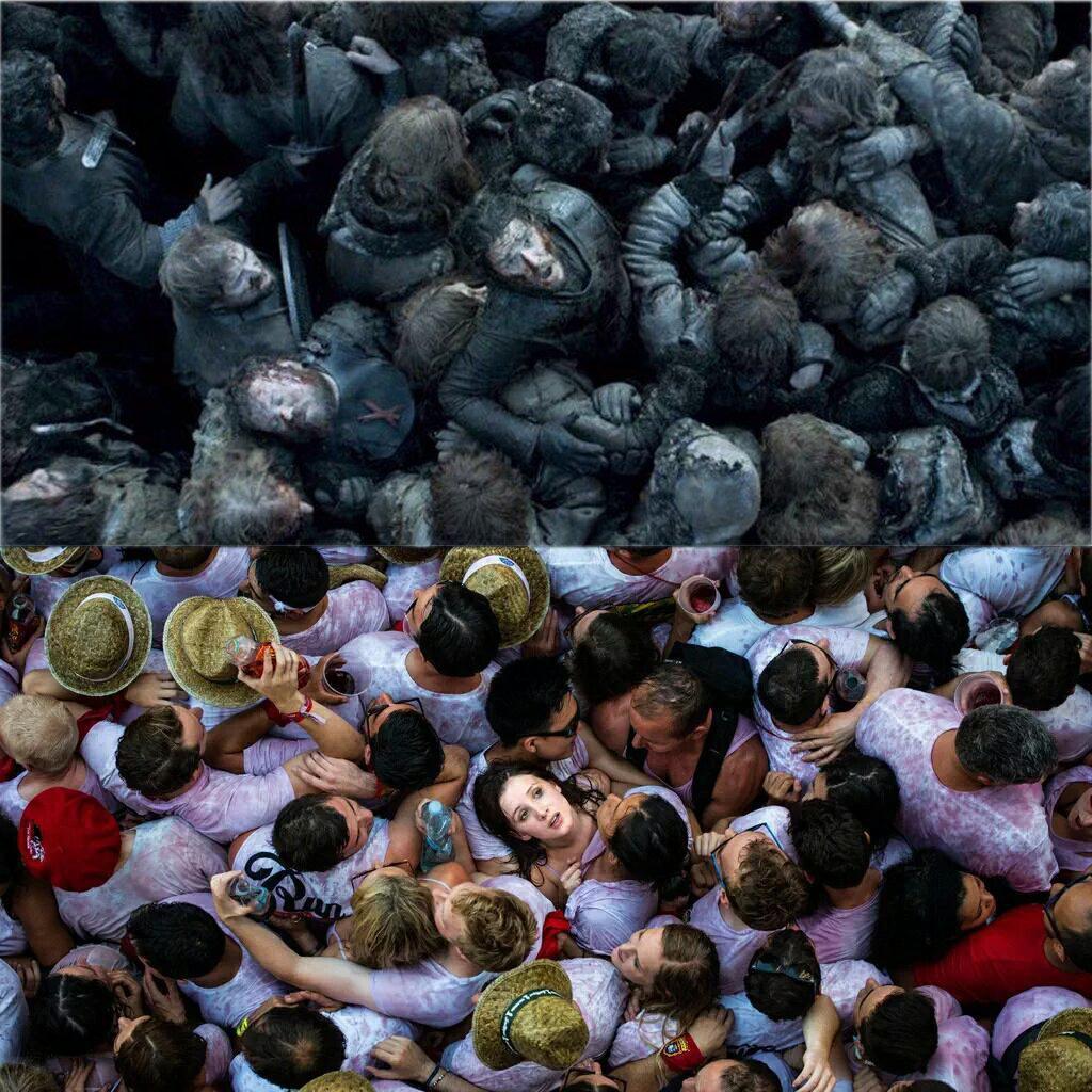 El chupinazo de San Fermín en Juego de Tronos