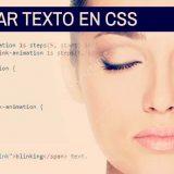 Cómo hacer parpadear un texto en CSS