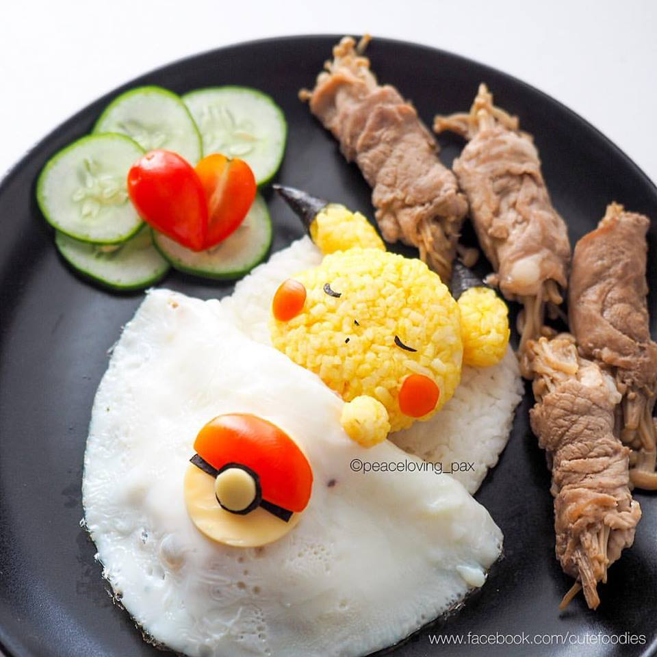 ===El arte comestible=== - Página 5 Pokemon-food-01