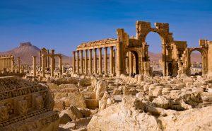 Ruinas de Palmira en la actualidad