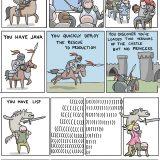 Cómo salvar a la princesa en 8 lenguajes de programación