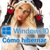 Cómo hibernar en Windows 10