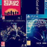 Mis lanzamientos más esperados para PS4 (2017)