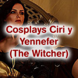 The Witcher 3: Dos cosplayer rusas se convierten en Ciri y Yennefer de Vengerberg