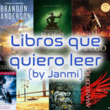 Libros que quiero leer (I) 
