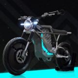 Falcon BLK, la moto eléctrica con un precio más que asequible