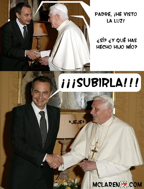 Zapatero ha visto la luz