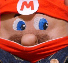 Mario Bros de cintura para abajo