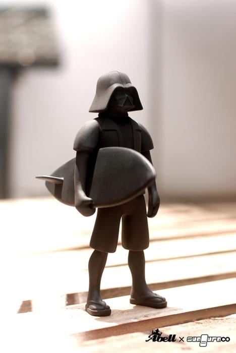 Darth Vader surfero