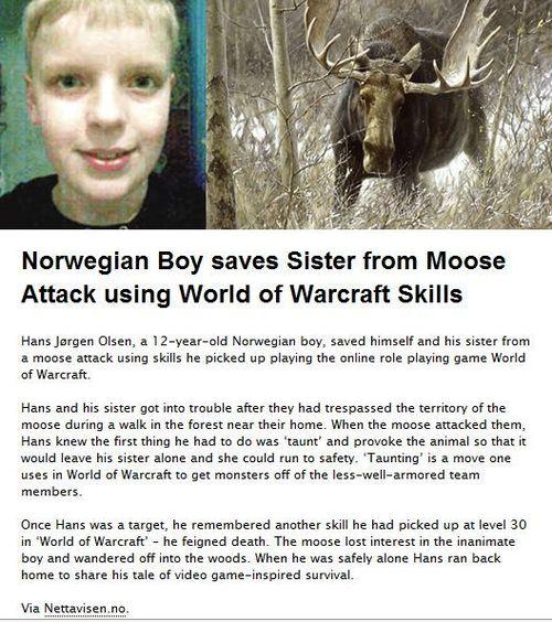 world of warcraft le ayudo a salvar a su hermana
