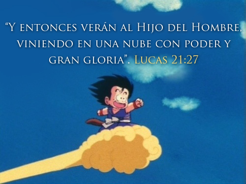 Biblia Lucas 21-27 Goku
