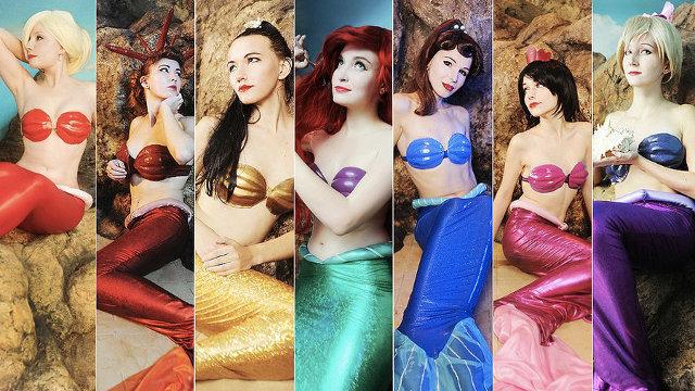 Cosplay de la Sirenita