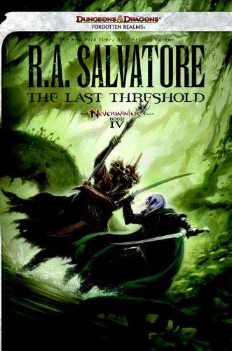 Portada de El Ultimo Umbral - Neverwinter 4 - R A Salvatore