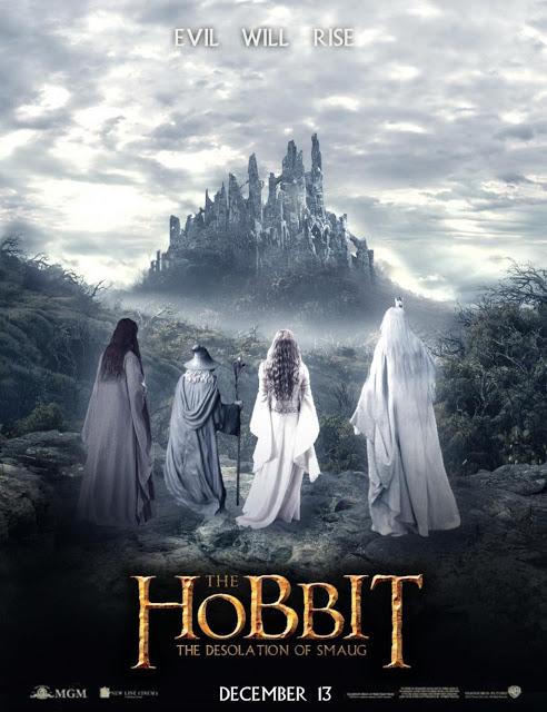 Primer póster de El Hobbit: La Desolación de Smaug