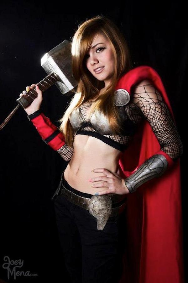 Lady Thor te seducirá