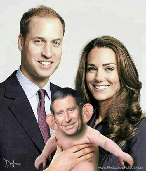 Primera imagen del hijo de los duques de Cambridge