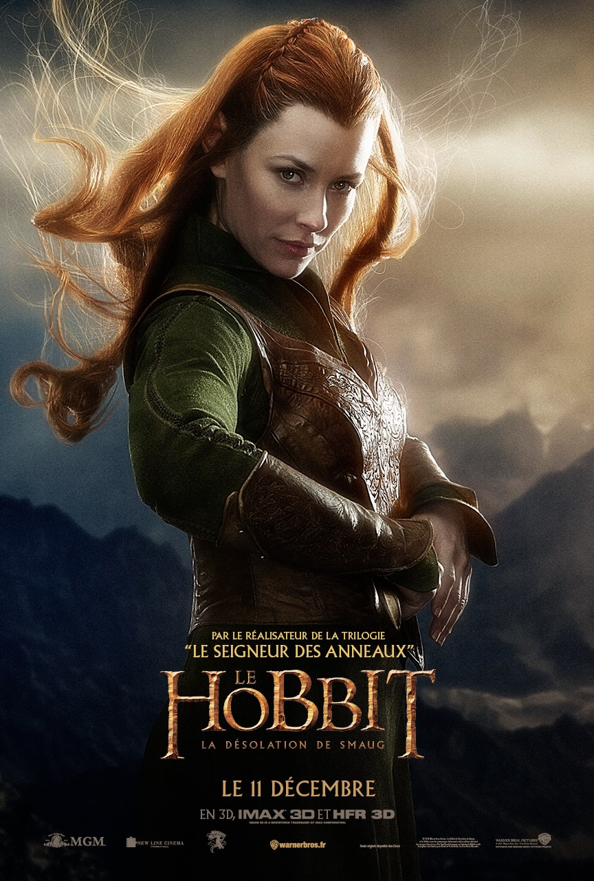 Poster de Tauriel (Evangeline Lilly)