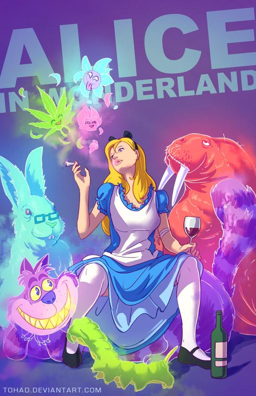 Dibujos macarras de personajes de la infancia