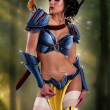 Princesas guerreras sexy inspiradas en Disney