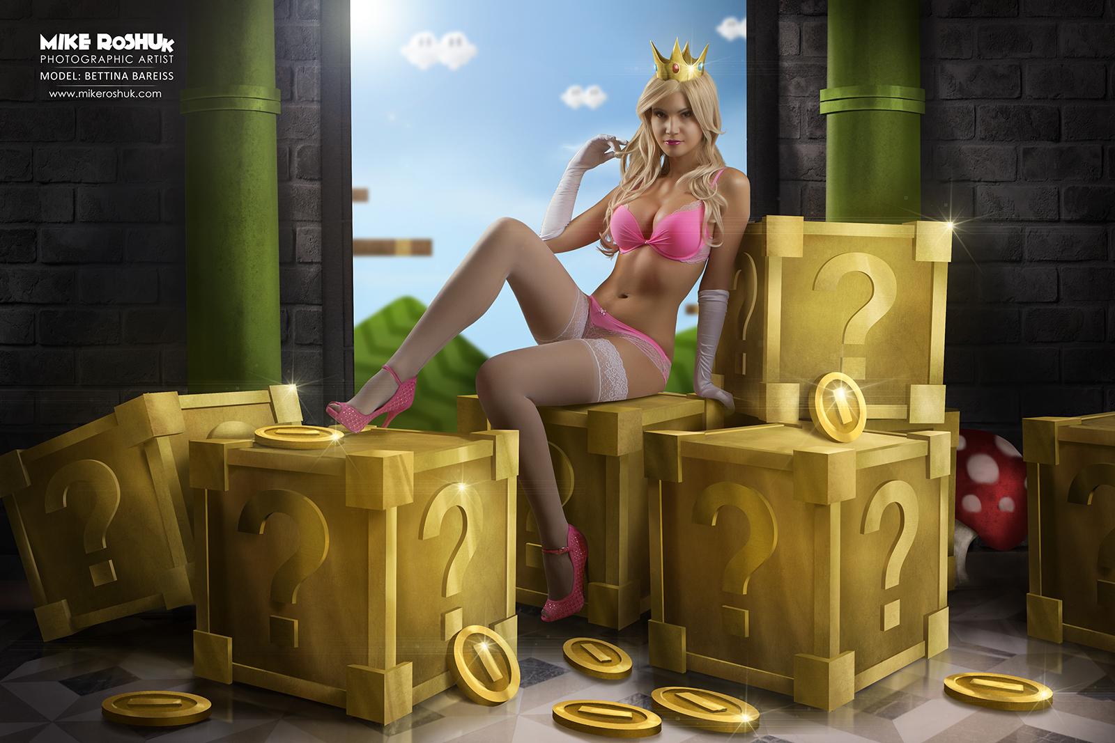 ¡El mejor Cosplay de la Princesa Peach!