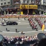 Imágenes aéreas de los actos de coronación de Felipe VI