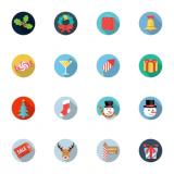Descarga 17 sets de iconos navideños