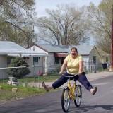Hacer bici a lo bestia