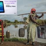 Cómo transportar Samsung Galaxy View
