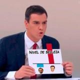 Resumen del debate Sánchez-Rajoy en una imagen (humor)
