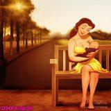 Princesas Disney como… ¡Madres!
