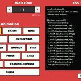 Generador de animaciones CSS 3