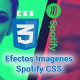 CSS: Efectos de color de imágenes como Spotify