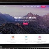 Hestia: tema gratuito de WordPress responsive y material